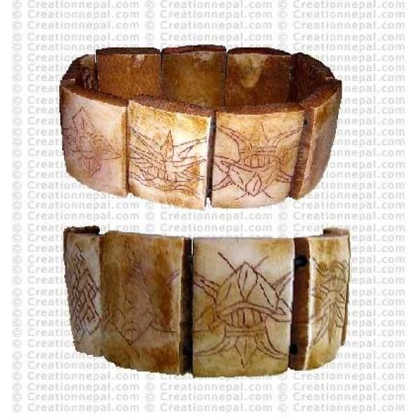 8-auspicious stretched bracelet