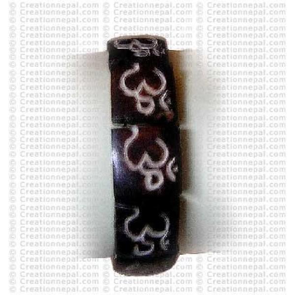 Om bone Bracelet