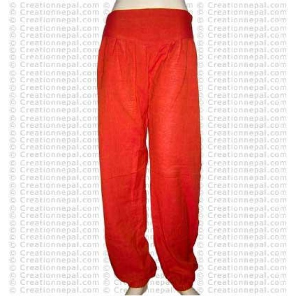 Narrow bottom cotton trouser 1