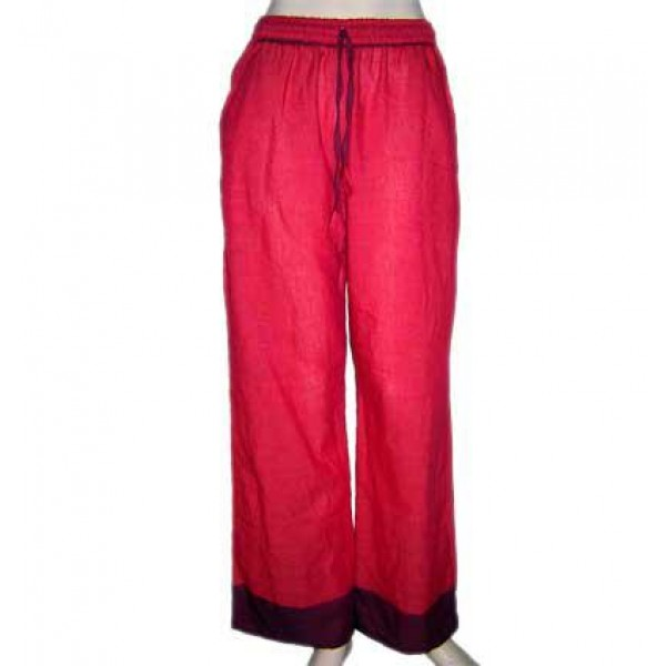 Sari design cotton trouser 1