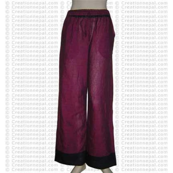 Sari design cotton trouser 2