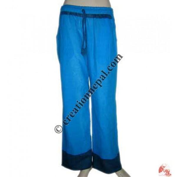 Sari design cotton trouser 3