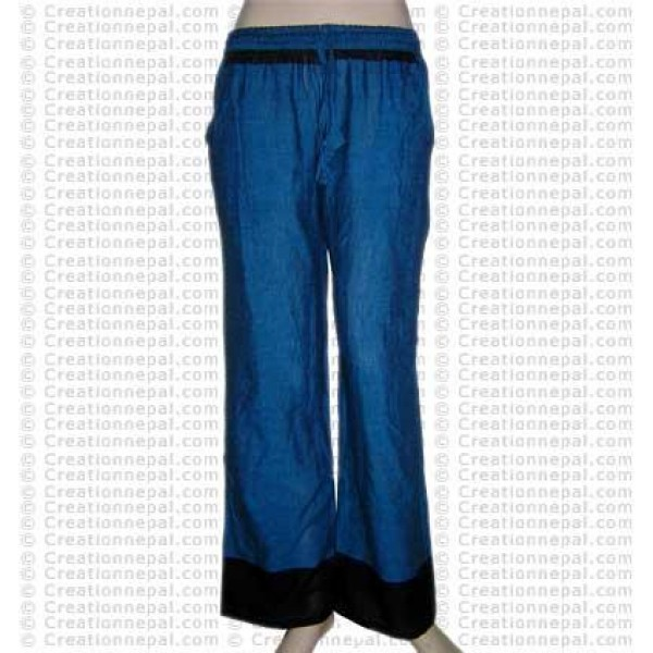 Sari design cotton trouser 4