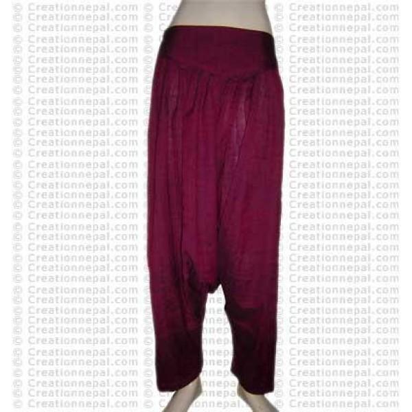 Afgan loose khaddar cotton trouser 2
