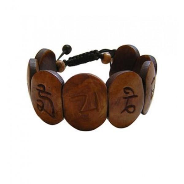Om mani bone bracelet 2