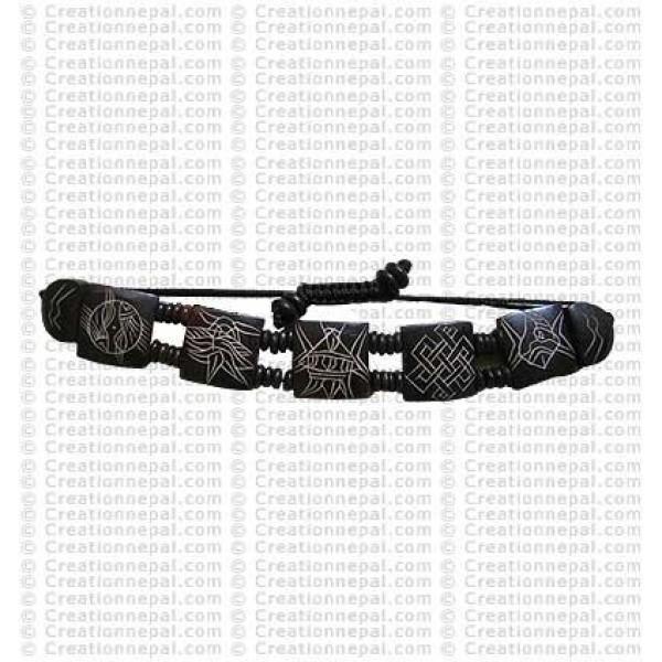 8-Auspicious signs bracelet 10