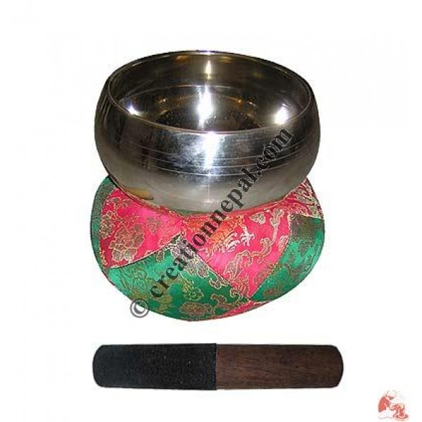 Large size plain singing bowl