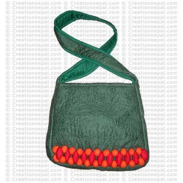 Balls patch felt bag 157