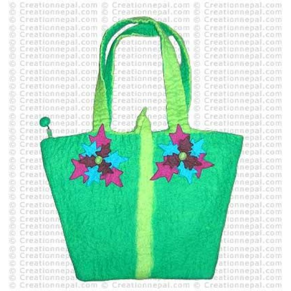 Basket bag felt 158
