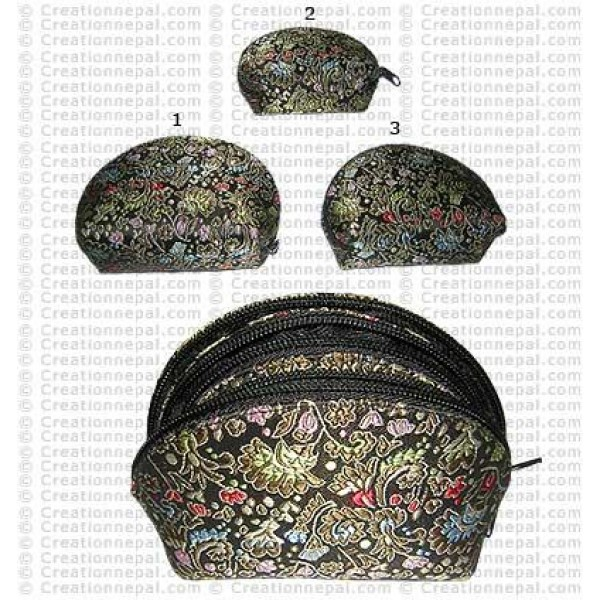 Hard cover small coin purse set