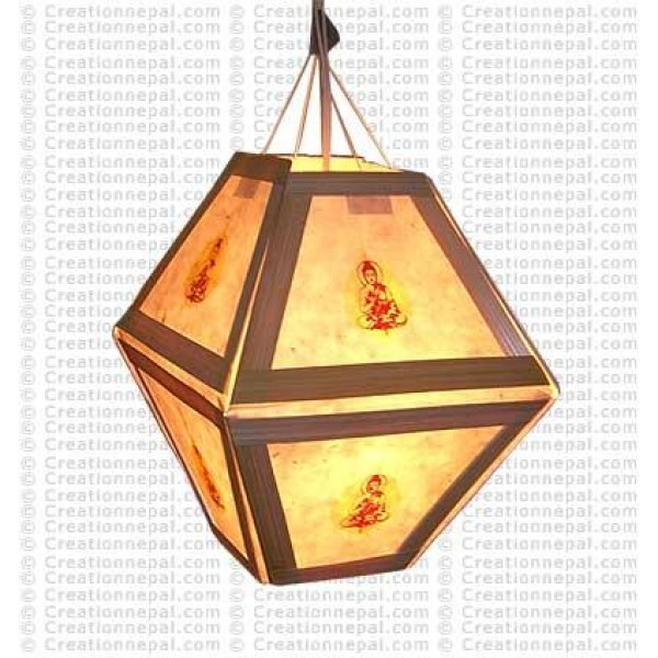 Buddha Lamp-shade 1