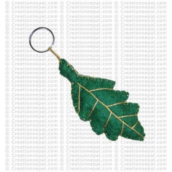 Leaf Key-ring