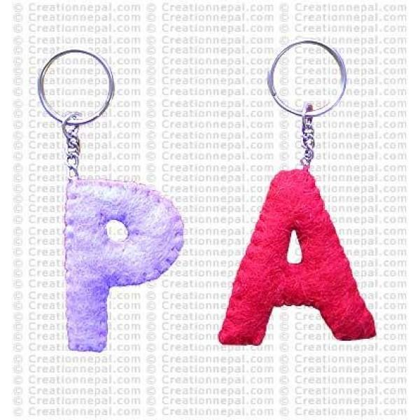 Alphabet Key-ring