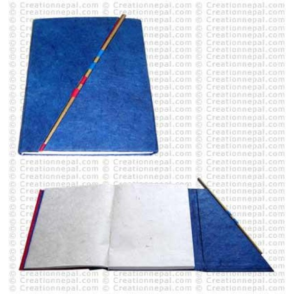 Folding cover notebook 01