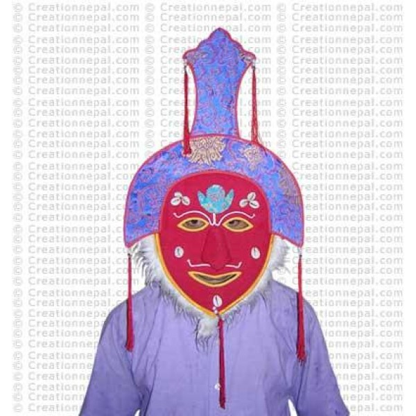 Dancing monk mask 2