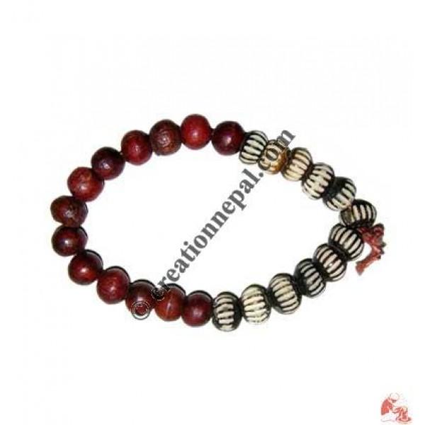 Mixed beads wristband 01