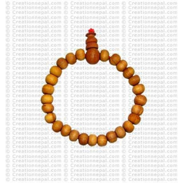 Pure sandle wood beads wirstband