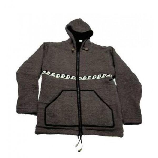 Woolen jacket 8