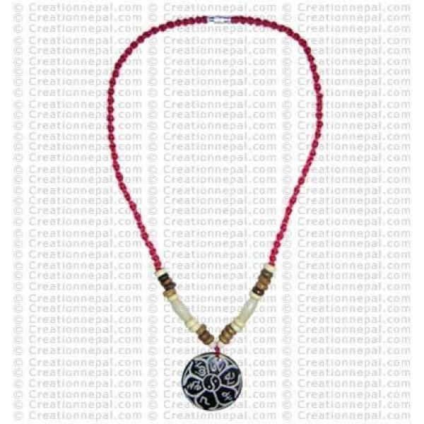 Peace pendant necklace 2