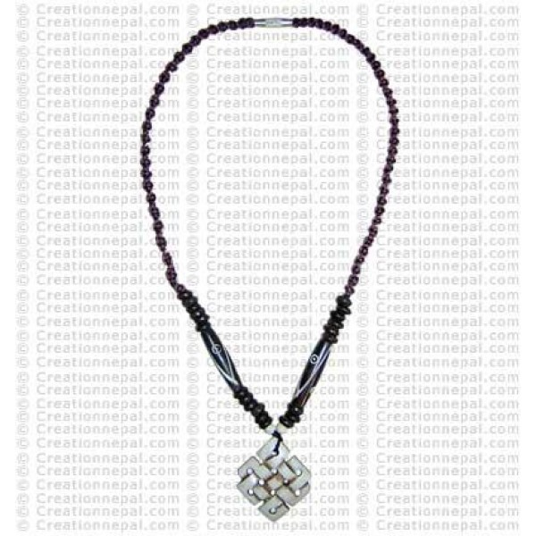 Endless knot Amulet necklace