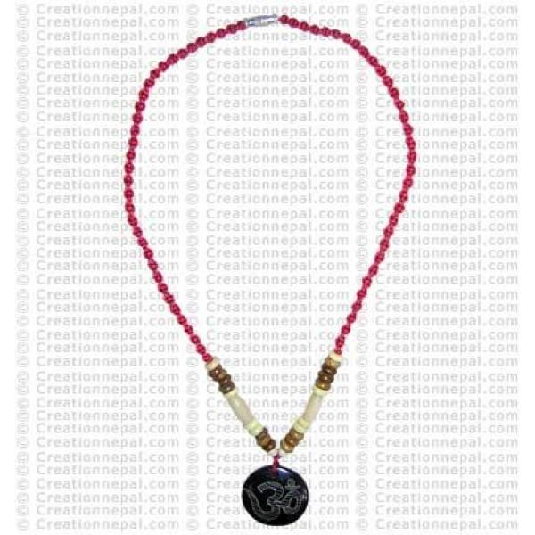 Om mantra amulet necklace 3