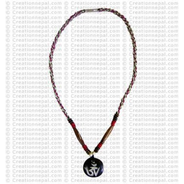 Om mantra Amulet necklace 4