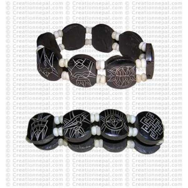 8-auspicious signs bracelet 11