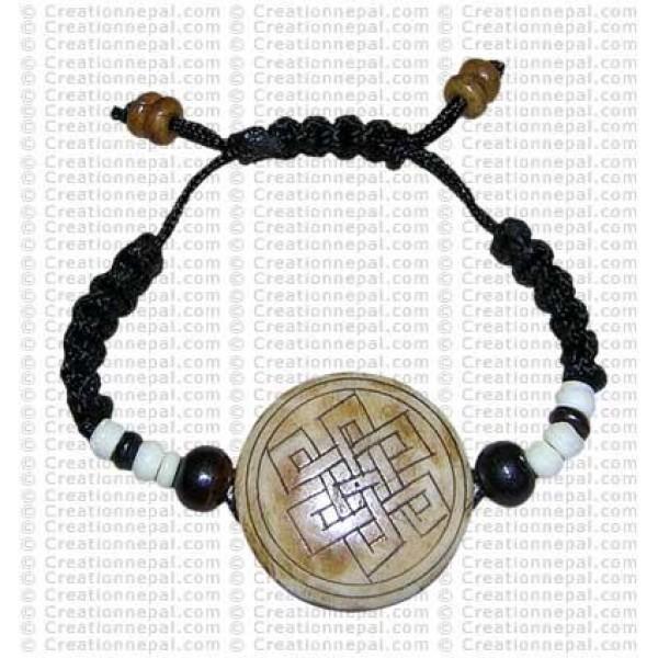 Single piece knot bracelet 2