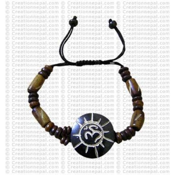 Rayed Om bracelet 2