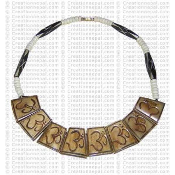 Om necklace 7