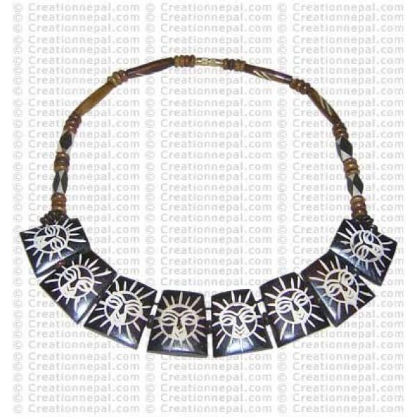 Sun necklace 2