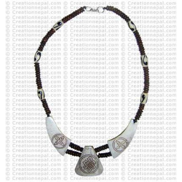 Knot-Dorje necklace 1