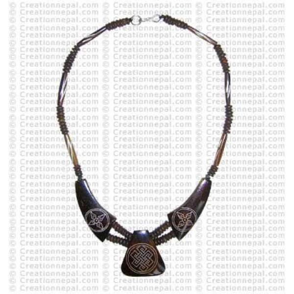 Knot-Dorje necklace 3