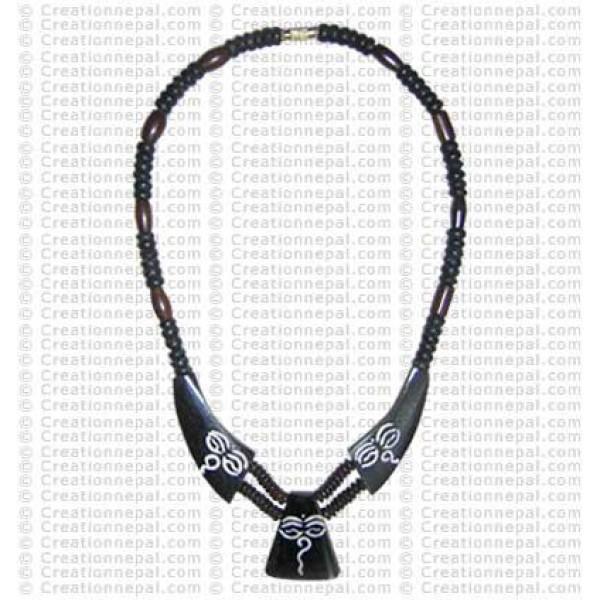 Buddha-eye necklace 1