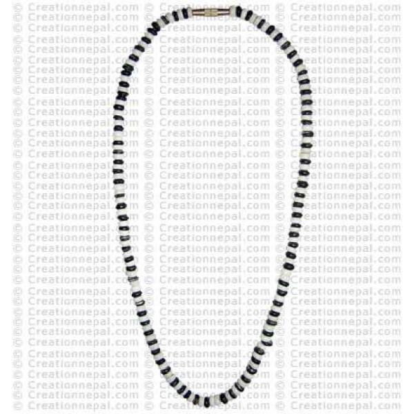 Bone beads necklace3