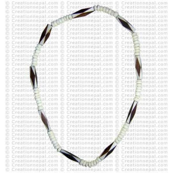 Bone beads necklace6