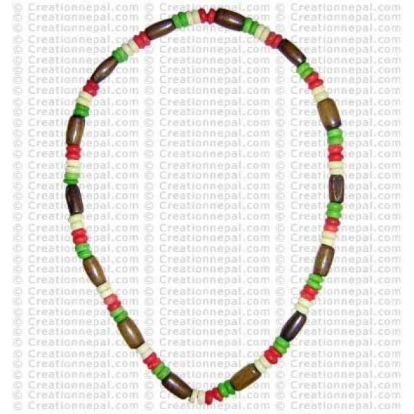 Bone beads necklace7