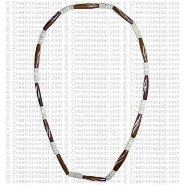 Bone beads necklace9