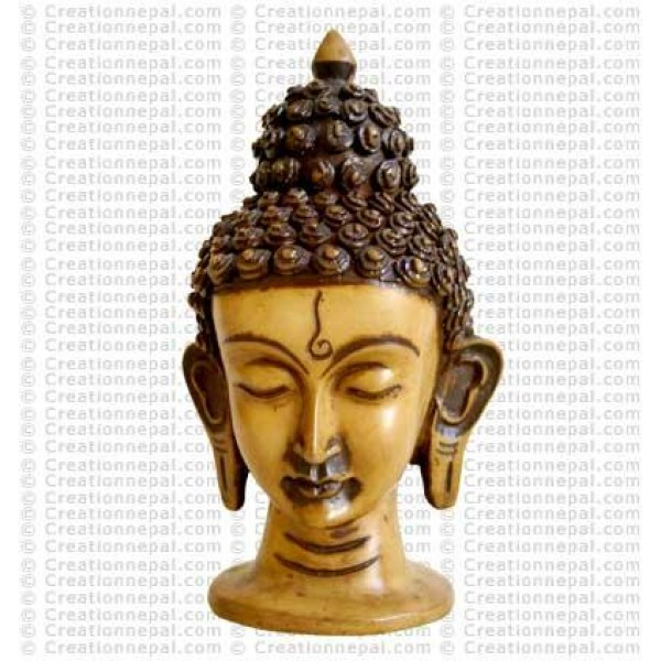 Medium Buddha head