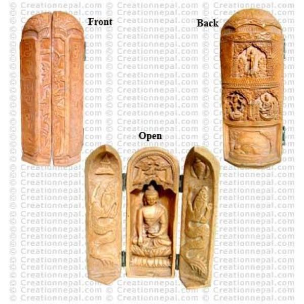 Buddha vertical box