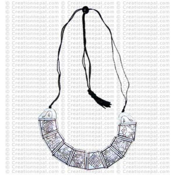 Astamangala necklace