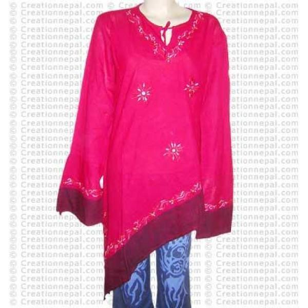 Sari design cottontop-32