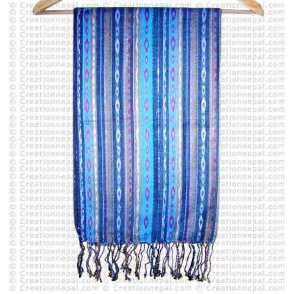 Dhaka design cotton shawll77