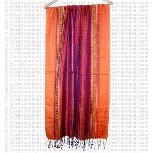 Cotton stripes scarf13B