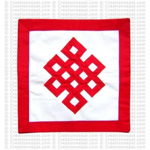 Patch-work knot cushion cover4