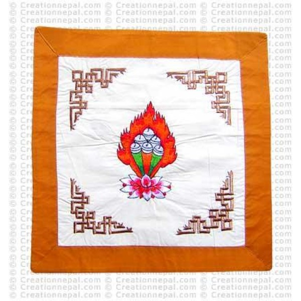Embroidered Padma cushion cover2