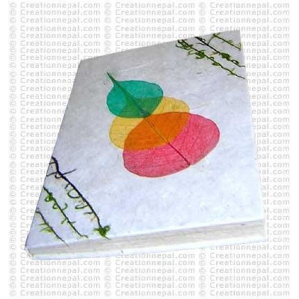 Three Bodhi leaf medium notebook-3