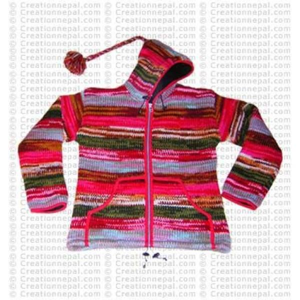 Tie-dye gents jacket