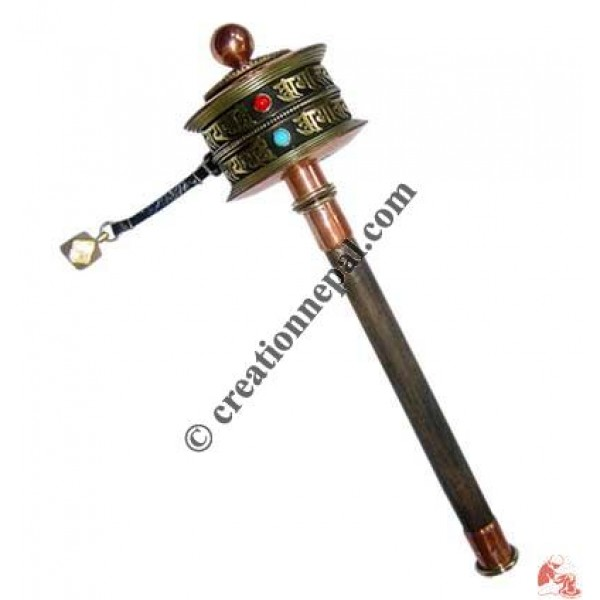 2-step Mantra medium prayer wheel