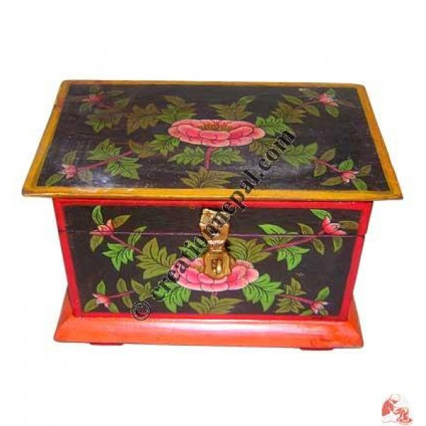 Small Tibetan treasure box